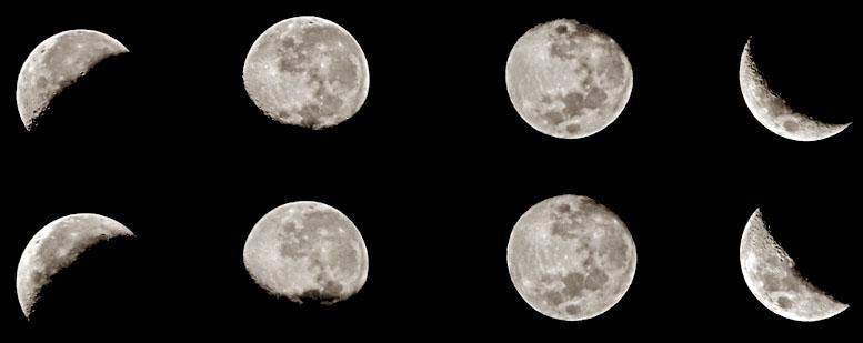 fazele lunare