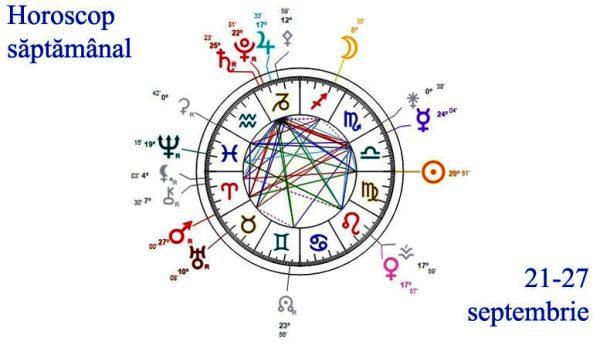 horoscop saptamanal 21-27 septembrie 2020
