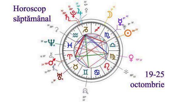 horoscop saptamanal 19-25 octombrie