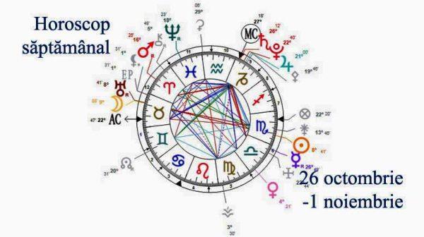 horoscop saptamanal 26 octombrie 1 noiembrie