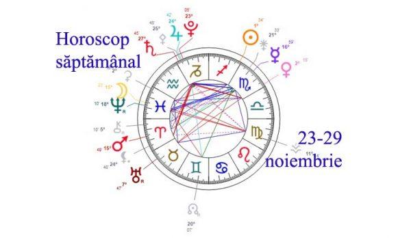 horoscop saptamanal 23-29 noiembrie 2020
