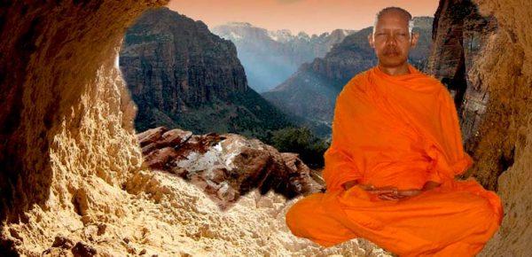 meditatie calugar