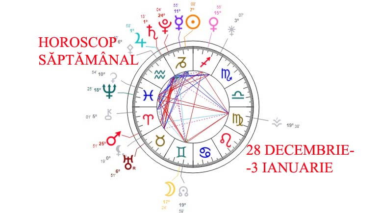 horoscop saptamanal 28 decembrie 3 ianuarie