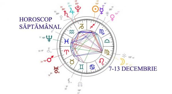 horoscop saptamanal 7-13 decembrie 2020