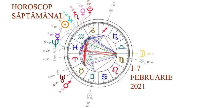 horoscop saptamanal 1-7 februarie 2021