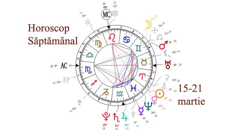 horoscop saptamanal 15-21 martie 2021