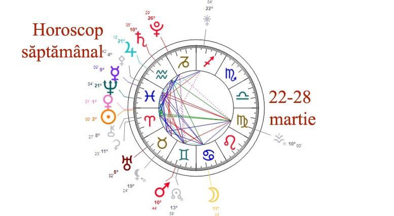 horoscop saptamanal 22-28 martie 2021